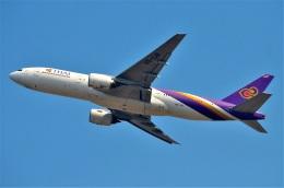 amagoさんが、スワンナプーム国際空港で撮影したタイ国際航空 777-2D7/ERの航空フォト(飛行機 写真・画像)