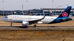 Shotaroさんが、南昌昌北国際空港で撮影した青島航空 A320-214の航空フォト(飛行機 写真・画像)