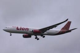 Mr.boneさんが、成田国際空港で撮影したタイ・ライオン・エア A330-343Xの航空フォト(飛行機 写真・画像)