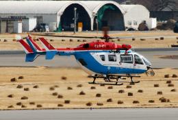 なごやんさんが、名古屋飛行場で撮影した川崎市消防航空隊 BK117C-2の航空フォト(飛行機 写真・画像)