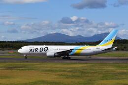 hachiさんが、新千歳空港で撮影したAIR DO 767-381/ERの航空フォト(飛行機 写真・画像)