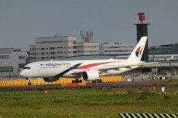 G-BNLYさんが、成田国際空港で撮影したマレーシア航空 A350-941の航空フォト(飛行機 写真・画像)