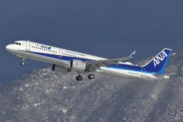 CYGNUS_20-1101さんが、米子空港で撮影した全日空 A321-272Nの航空フォト(飛行機 写真・画像)