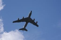 ぼくちゃんさんが、厚木飛行場で撮影したアメリカ空軍 KC-135R Stratotanker (717-148)の航空フォト(飛行機 写真・画像)