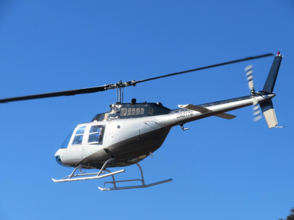 ランチパッドさんの小川航空 Bell 206/406 (JA6176) 航空フォト