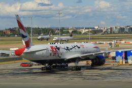 G-BNLYさんが、ロンドン・ヒースロー空港で撮影したブリティッシュ・エアウェイズ 777-236/ERの航空フォト(飛行機 写真・画像)