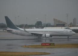 taiki17さんが、ロンドン・ヒースロー空港で撮影したセイバ・インターコンチネンタル 737-8FBの航空フォト(飛行機 写真・画像)