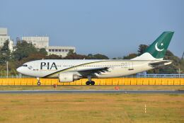 ポン太さんが、成田国際空港で撮影したパキスタン国際航空 A310-308の航空フォト(飛行機 写真・画像)