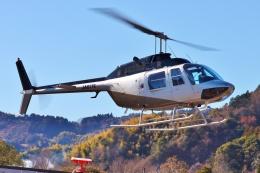 ブルーさんさんが、静岡ヘリポートで撮影した日本法人所有 206B JetRanger IIの航空フォト(飛行機 写真・画像)