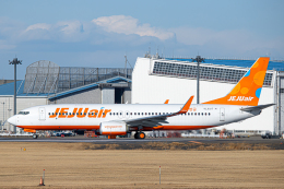 SGR RT 改さんが、成田国際空港で撮影したチェジュ航空 737-8LCの航空フォト(飛行機 写真・画像)