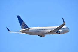 チョロ太さんが、成田国際空港で撮影したユナイテッド航空 767-322/ERの航空フォト(飛行機 写真・画像)
