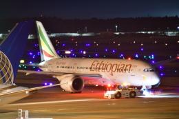 チョロ太さんが、成田国際空港で撮影したエチオピア航空 787-8 Dreamlinerの航空フォト(飛行機 写真・画像)