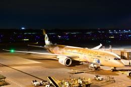 チョロ太さんが、成田国際空港で撮影したエティハド航空 787-9の航空フォト(飛行機 写真・画像)