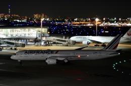 チョロ太さんが、羽田空港で撮影したエールフランス航空 787-9の航空フォト(飛行機 写真・画像)
