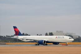 チョロ太さんが、成田国際空港で撮影したデルタ航空 A330-941の航空フォト(飛行機 写真・画像)
