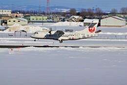 hidetsuguさんが、札幌飛行場で撮影した北海道エアシステム ATR-42-600の航空フォト(飛行機 写真・画像)