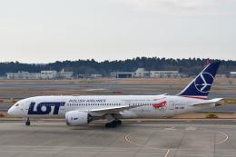 チョロ太さんが、成田国際空港で撮影したLOTポーランド航空 787-8 Dreamlinerの航空フォト(飛行機 写真・画像)