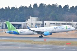 チョロ太さんが、成田国際空港で撮影したバンブー・エアウェイズ A321-251Nの航空フォト(飛行機 写真・画像)