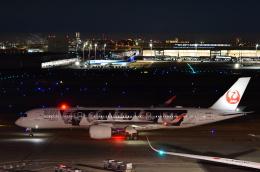 チョロ太さんが、羽田空港で撮影した日本航空 A350-941の航空フォト(飛行機 写真・画像)
