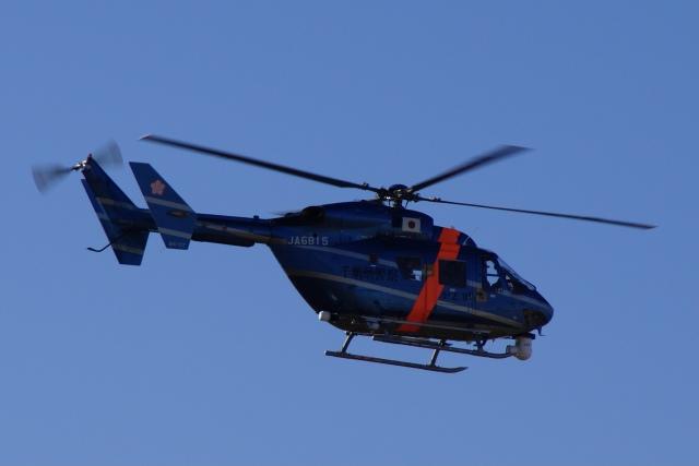 hayabusa_3578さんが、成田国際空港で撮影した千葉県警察 BK117C-1の航空フォト(飛行機 写真・画像)