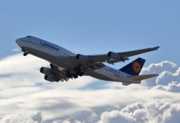 MOHICANさんが、関西国際空港で撮影したルフトハンザドイツ航空 747-430の航空フォト(飛行機 写真・画像)