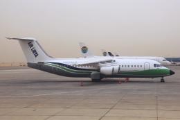kinsanさんが、カイロ国際空港で撮影したエア・リビア BAe-146-300の航空フォト(飛行機 写真・画像)