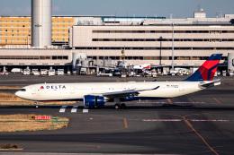 kikiさんが、羽田空港で撮影したデルタ航空 A330-941の航空フォト(飛行機 写真・画像)