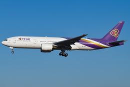 renseiさんが、成田国際空港で撮影したタイ国際航空 777-2D7/ERの航空フォト(飛行機 写真・画像)