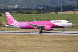 sumihan_2010さんが、石垣空港で撮影したピーチ A320-214の航空フォト(飛行機 写真・画像)