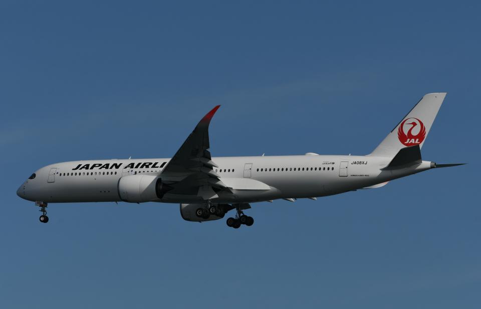 チャーリーマイクさんの日本航空 Airbus A350-900 (JA08XJ) 航空フォト