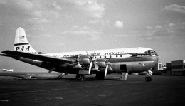 Y.Todaさんが、羽田空港で撮影したパンアメリカン航空 377 Stratocruiserの航空フォト(飛行機 写真・画像)