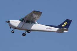 HEATHROWさんが、鹿児島空港で撮影した新日本航空 172P Skyhawkの航空フォト(飛行機 写真・画像)