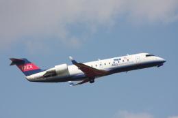 プルシアンブルーさんが、仙台空港で撮影したアイベックスエアラインズ CL-600-2B19 Regional Jet CRJ-100LRの航空フォト(飛行機 写真・画像)