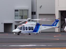 FT51ANさんが、東京ヘリポートで撮影したオールニッポンヘリコプター AW139の航空フォト(飛行機 写真・画像)