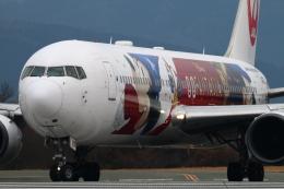 myoumyoさんが、熊本空港で撮影した日本航空 767-346/ERの航空フォト(飛行機 写真・画像)