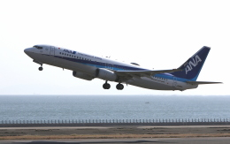 asuto_fさんが、大分空港で撮影した全日空 737-8ALの航空フォト(飛行機 写真・画像)