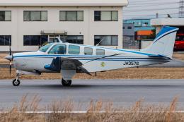 A.Tさんが、八尾空港で撮影した日本法人所有 A36 Bonanza 36の航空フォト(飛行機 写真・画像)