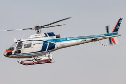 A.Tさんが、八尾空港で撮影した中日本航空 AS350B Ecureuilの航空フォト(飛行機 写真・画像)