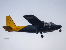 WAiRさんが、熊本空港で撮影した新日本航空 BN-2B-20 Islanderの航空フォト(飛行機 写真・画像)