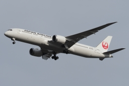 木人さんが、成田国際空港で撮影した日本航空 787-9の航空フォト(飛行機 写真・画像)