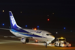 h_wajyaさんが、新潟空港で撮影したANAウイングス 737-54Kの航空フォト(飛行機 写真・画像)