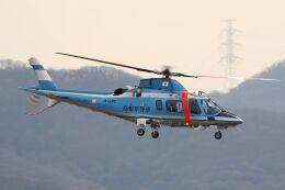 しょうせいさんが、岡南飛行場で撮影した島根県警察 A109E Powerの航空フォト(飛行機 写真・画像)