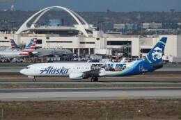 G-BNLYさんが、ロサンゼルス国際空港で撮影したアラスカ航空 737-990/ERの航空フォト(飛行機 写真・画像)