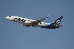 G-BNLYさんが、ロサンゼルス国際空港で撮影したアラスカ航空 737-890の航空フォト(飛行機 写真・画像)