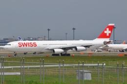Flying A340さんが、成田国際空港で撮影したスイスインターナショナルエアラインズ A340-313Xの航空フォト(飛行機 写真・画像)