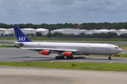Flying A340さんが、成田国際空港で撮影したスカンジナビア航空 A340-313Xの航空フォト(飛行機 写真・画像)