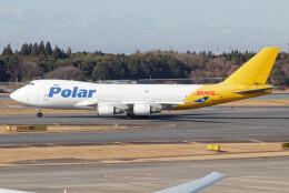 じゃがさんが、成田国際空港で撮影したポーラーエアカーゴ 747-46NF/SCDの航空フォト(飛行機 写真・画像)