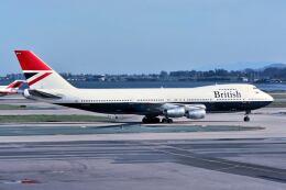 パール大山さんが、サンフランシスコ国際空港で撮影したブリティッシュ・エアウェイズ 747-236Bの航空フォト(飛行機 写真・画像)