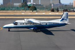 (新)ふぁんとむ改さんが、調布飛行場で撮影した新中央航空 Do 228-212 NGの航空フォト(飛行機 写真・画像)