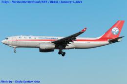 Chofu Spotter Ariaさんが、成田国際空港で撮影した四川航空 A330-243Fの航空フォト(飛行機 写真・画像)